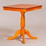 Классический обеденный стол трансформер «Центр» для кухни из массива дерева №10