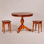 Обеденный стол «Меридиан-3» для кухни из массива дерева. Классика №16