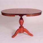 Обеденный стол «Меридиан-3» для кухни из массива дерева. Классика №6