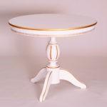 Обеденный стол «Меридиан-3» для кухни из массива дерева. Классика №4
