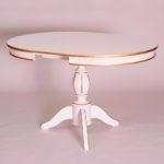 Обеденный стол «Меридиан-3» для кухни из массива дерева. Классика №1