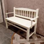 Кухонная лавка «Гессер» из массива дерева. Мебельная фабрика «LIERRO» №1