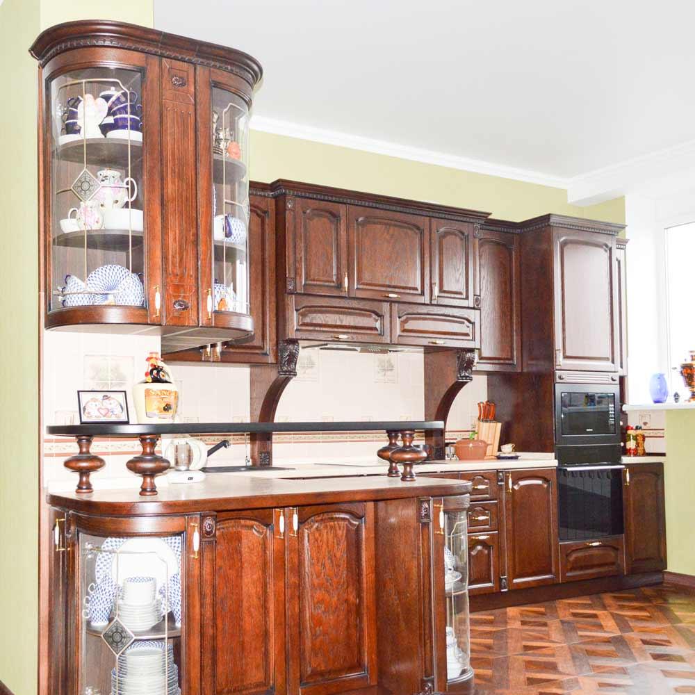 Кухонный гарнитур «Мериса». Стиль Классика №1