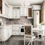 Кухонный гарнитур «Снежана». Стиль Нео-классика №9